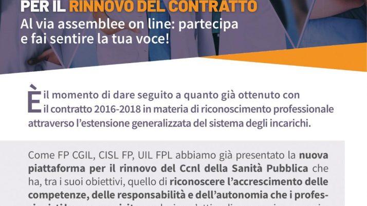 SANITA PUBBLICA RIPARTE LA CAMPAGNA DI MOBILITAZIONE